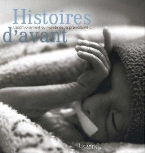 Histoires d'avant - lieux dits - 9782362191602 -