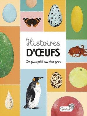 Histoires d'oeufs - grenouille - 9782366534979