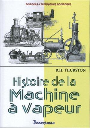 Histoire de la machine à vapeur - decoopman - 9782369650164 -