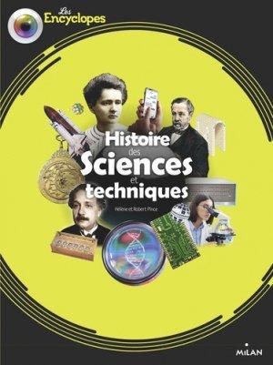 Histoire des sciences et techniques - milan - 9782408015879 -
