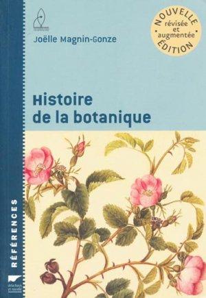 Histoire de la botanique - delachaux et niestle - 9782603016275 -