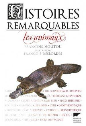 Histoires remarquables - delachaux et niestle - 9782603020661 -