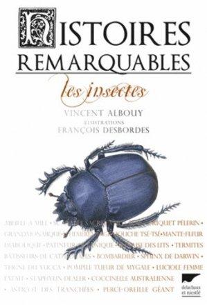 Histoires remarquables - delachaux et niestle - 9782603021415 -
