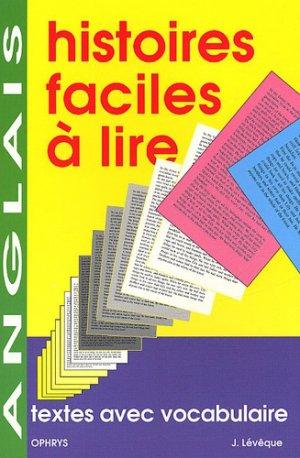 Histoires Faciles à Lire Anglais - ophrys - 9782708006676 -
