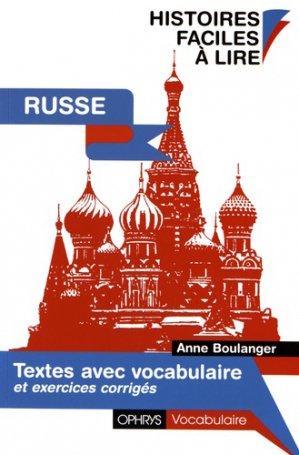 Textes avec vocabulaire russe - ophrys - 9782708011953 -