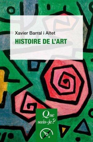 Histoire de l'art - puf - 9782715402706 -