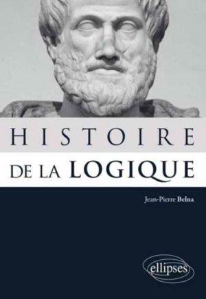 Histoire de la logique - ellipses - 9782729884482 -