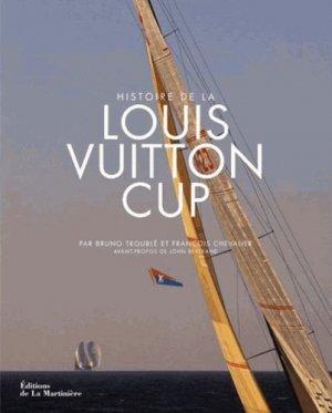 Histoire de la Louis Vuitton Cup - de la martiniere - 9782732458588 -