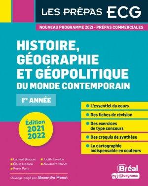 Histoire, géographie et géopolitique du monde contemporain - Bréal - 9782749550848 -