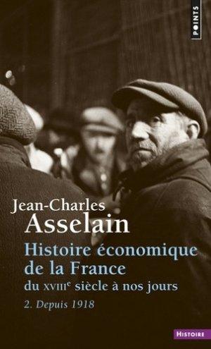 Histoire economique de la France du XVIIe siècle à nos jours - Points - 9782757822913 -