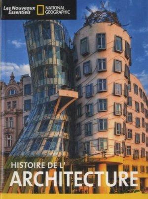Histoire de l'architecture - national geographic - 9782822900317 -