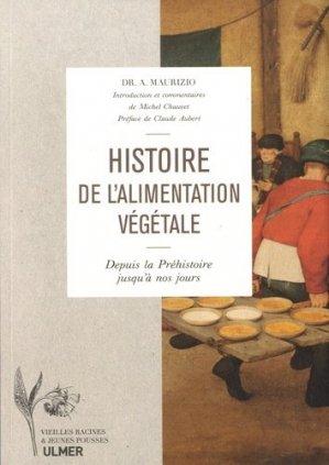 Histoire de l'alimentation végétale - Ulmer - 9782841389148 -