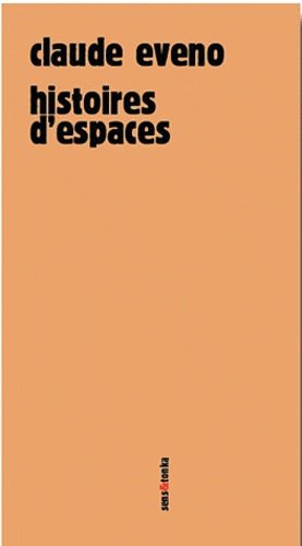 Histoires d'espaces - sens et tonka - 9782845342026 -