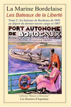 Histoire de la marine bordelaise - dossiers d'aquitaine - 9782846223195