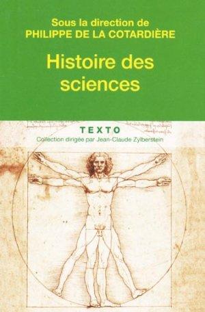 Histoire des sciences - tallandier - 9782847349740 -