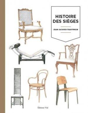 Histoire des sièges - vial - 9782851012128 -
