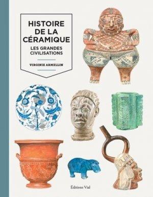 Histoire de la céramique - vial - 9782851012296 -