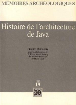 Histoire de l'architecture de Java - Ecole française d'Extrême-Orient - 9782855394183 -