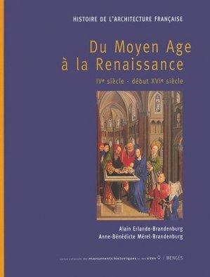 Histoire de l'architecture française - menges / editions du patrimoine - 9782856204917 -