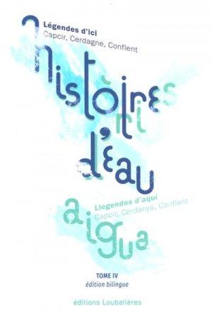 Histoires d'eau - loubatieres nouvelles editions - 9782862667829 -