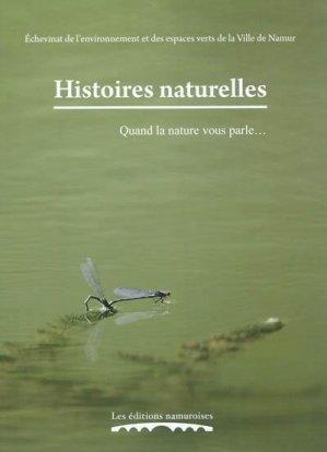 Histoires naturelles - namuroises - 9782875510167 -