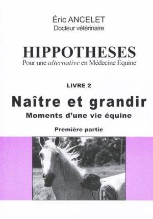 Hippothèses - Livre 2 - cheval libre - 9782913054028 -