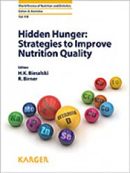 Hidden Hunger: Strategies to Improve Nutrition Quality - karger  - 9783318062526 -