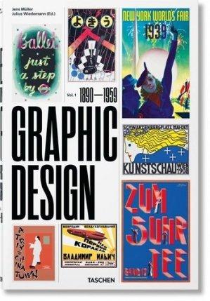 Histoire du graphisme. Vol.1, 1890–1959 - taschen - 9783836563079 -
