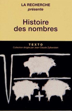 Histoire des nombres - tallandier - 9791021001091 -