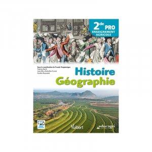 Histoire Géographie 2de Pro Enseignement agricole - educagri - 9791027501205 -