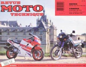Honda CBR 500 F mod - Yamaha XTZ 660 ténéré - etai - editions techniques pour l'automobile et l'industrie - 2223618947552 -