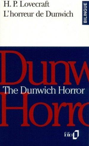 HORREUR DE DUNWICH -BLINGUE-  - gallimard editions - 9782070387816 -