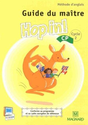 Méthode d'anglais CP Hop in! - Magnard - 9782210602250 -