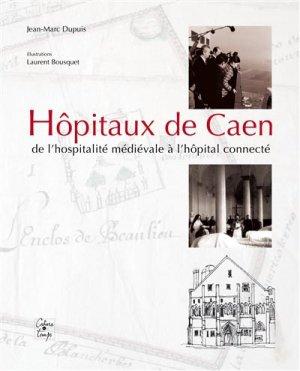 Hôpitaux de Caen - cahiers du temps - 9782355071010 -