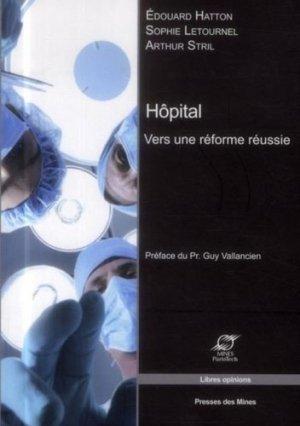 Hôpital - presses des mines - 9782356710666 -