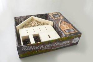 Hôtel à coccinelles et autres insectes - marabout - 9782501100847 -