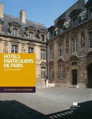 Hôtels particuliers de Paris - massin - 9782707207050 -