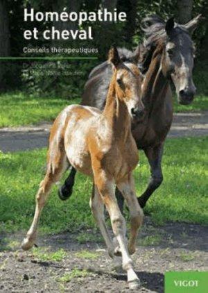 Homéopathie et cheval - vigot - 9782711422630 -