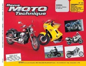 Honda VT 600 C ''Shadow'' (de 88 à 94) Triumph 750 et 900 tous types (91-94) - etai - editions techniques pour l'automobile et l'industrie - 9782726890912 -