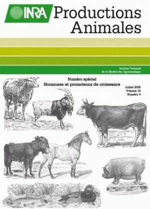 Hormones et promoteurs de croissance en productions animales - inra  - 9782738012425