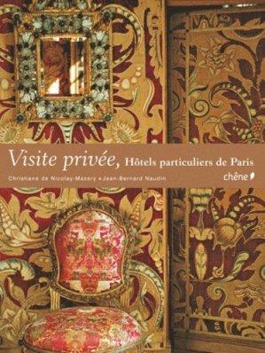 Hôtels particuliers de Paris - du chene - 9782812304118 -