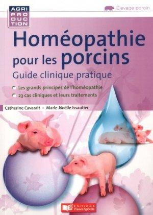 Homéopathie pour les porcins - france agricole - 9782855575452 -