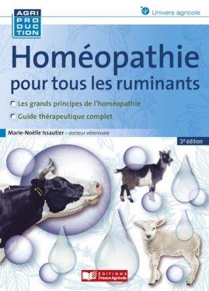 Homéopathie pour les ruminants - france agricole - 9782855575728