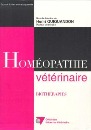 Homéopathie véterinaire - du point veterinaire - 9782863261408 -