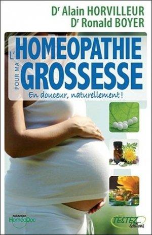 Homéopathie pour ma grossesse - testez - 9782874610608 -