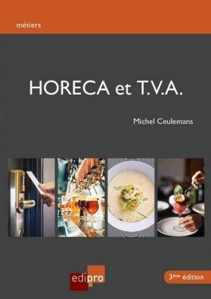 Horeca et TVA - Edipro - 9782874963681 -