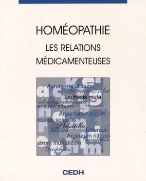 Homéopathie - cedh - 9782915668063 -