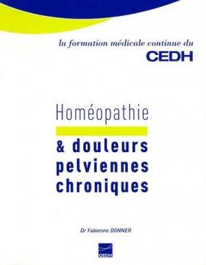 Homéopathie & douleurs pelviennes chroniques - cedh - 9782915668308 -