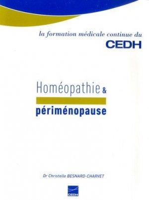 Homéopathie & périménopause - CEDH - 9782915668377 -
