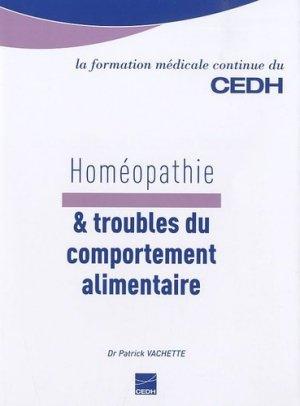 Homéopathie & troubles du comportement alimentaire - cedh - 9782915668469 -